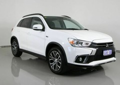 2019 mitsubishi asx xc my19 ls 2wd white continuous variable wagon