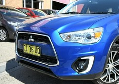 used 2016 blue mitsubishi asx ls wagonfor sale in north narrabeen, nsw