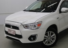 used 2013 white mitsubishi asx aspire wagonfor sale in cairns city, qld