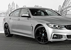 used 2017 glacier silver bmw 4 series 420i m sport hatchbackfor sale in rushcutters bay, nsw