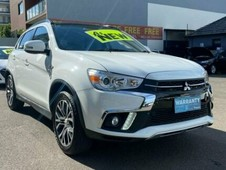 2019 mitsubishi asx xc my19 exceed 2wd white continuous variable wagon