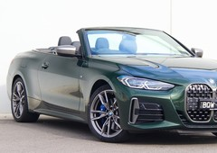 demo 2021 green bmw 4 series m440i xdrive convertiblefor sale in bentleigh, vic