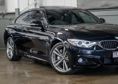used 2016 black bmw 4 series 435i hatchbackfor sale in albion, qld