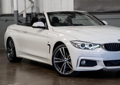 used 2016 white bmw 4 series 420d m sport convertiblefor sale in albion, qld