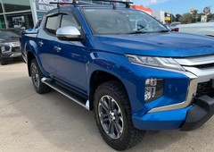 used 2019 blue mitsubishi triton gls premium utility dual cabfor sale in hoppers crossing, vic