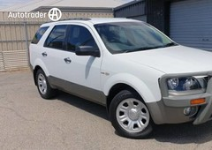 2007 ford territory tx 4x4 for sale 8,999